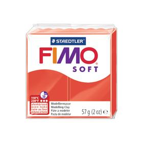 FIMO Knete Soft 57g 8020-24 rot