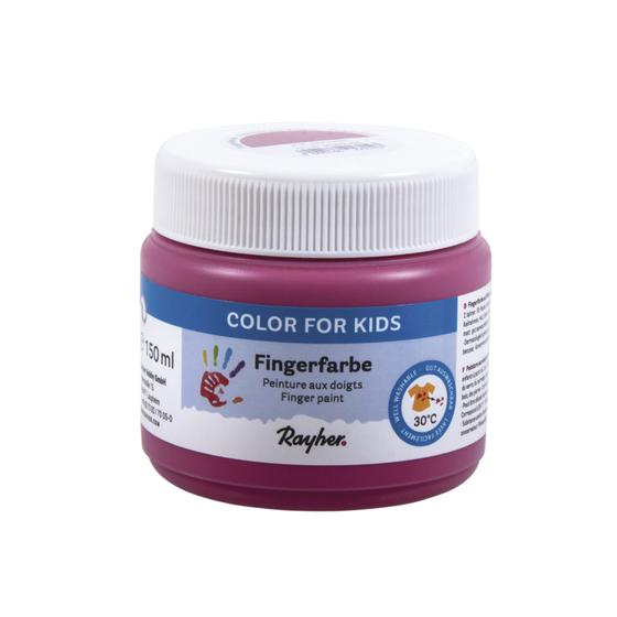 Fingerfarbe, Dose 150ml, pink