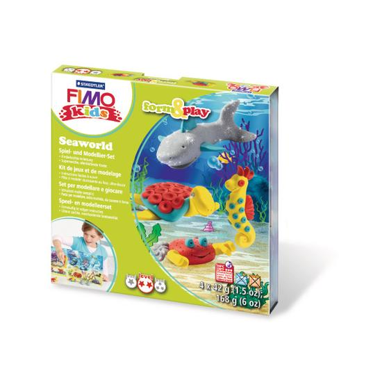 FIMO form&play 4x42g 803414LY Set Seaworld