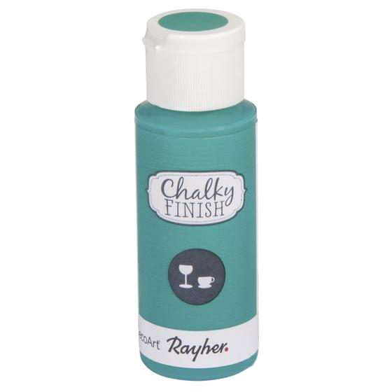 Chalky Finish for glass, Flasche 59ml, meergrün